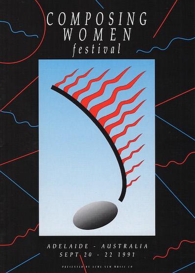 Composing Women's Festival program cover